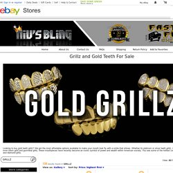 Grillz, Gold Grill items in Affordable Grillz for Sale store on eBay!