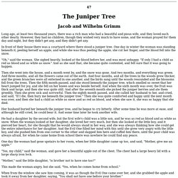 Grimm 047: The Juniper Tree