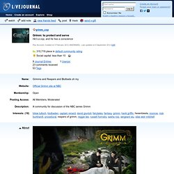 grimm_cop - Profile