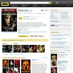 Grimm Love (2006)