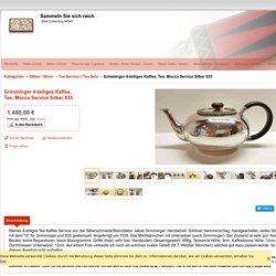 Grimminger 4-teiliges Kaffee, Tee, Mocca Service Silber 835 - Sammeln Sie sich reich
