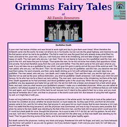 Grimms Fairy Tales - Godfather Death