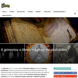 6 grimorios o libros mágicos escalofriantes