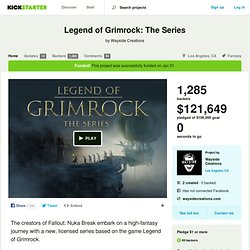 Legend of Grimrock: The Series by Wayside Creations