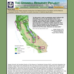 Grinnell Resurvey Project