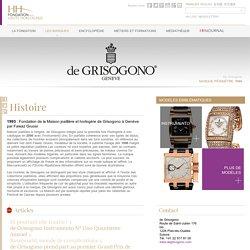 De Grisogono - Fondation de la Haute Horlogerie