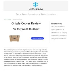 Grizzly Cooler Pros and Cons