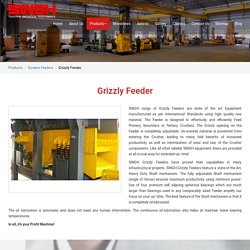Grizzly Feeder Crusher manufacturer & Supplier in Nashik - Singh Crusher