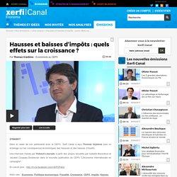 Thomas Grjebine, CEPII - Hausses et baisses d'impôts : quels effets sur la croissance ?