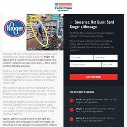 Groceries, Not Guns: Send Kroger a Message