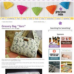 "Grocery Bag ""Yarn"" 