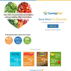 Grocery Coupons, Food Coupons | SavingStar