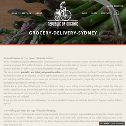 Grocery Delivery Sydney