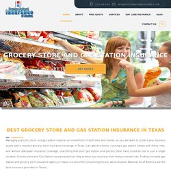 Gas Station Insurance in Houston, Tx