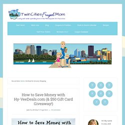 Grocery Shopping Archives - Twin Cities Frugal Mom