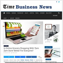Is Online Grocery Shopping With 'Zam Zam Store' Better For Everyone?