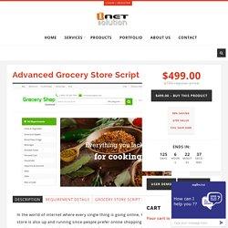 Grocery Store Website Script, Online Grocery Store Script
