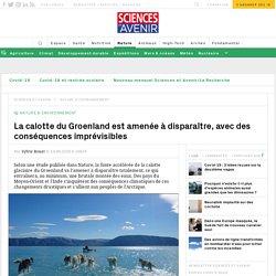 La fonte de la calotte du Groenland désormais inéluctable