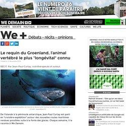 """Le requin du Groenland, l'animal vertébré le plus """"longévital"""" connu"""