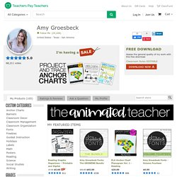 Amy Groesbeck Teaching Resources