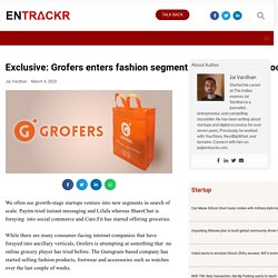 Grofers enters fashion segment with clothing and footwear