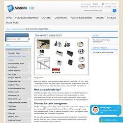 Desk-Grommets - Moderix