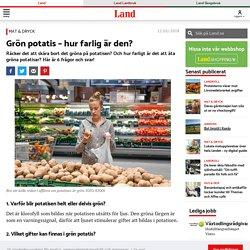 Grön potatis – det ska du göra med den