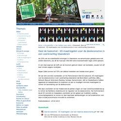 Bond Beter Leefmilieu: Deel de toekomst - 65 maatregelen voor de deeleconomie in een veerkrachtig Vlaanderen