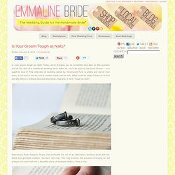 Is Your Groom Tough As Nails? - Barn Nail Ring | Emmaline Bride