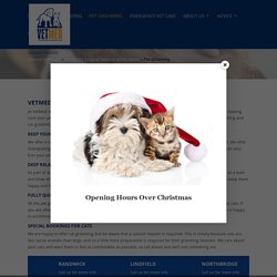 Dog & Cat Grooming Eastern Suburbs & North Shore