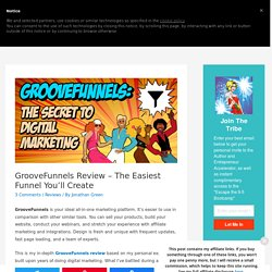GrooveFunnels Review + ALL Alternatives Comparison 2020✓