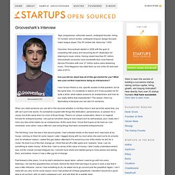 Grooveshark's Interview