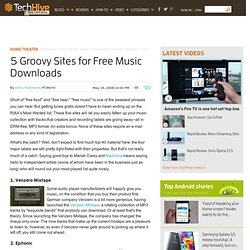 PC World - 5 Groovy Sites for Free Music Downloads