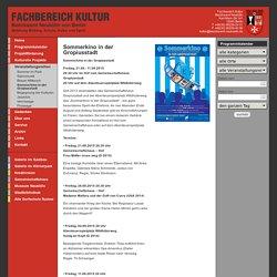 Sommerkino in der Gropiusstadt - Fachbereich Kultur - Bezirksamt Neukölln
