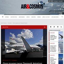 Gros nuages pour Dassault Aviation