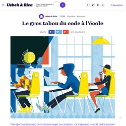 Le gros tabou du code à l'école