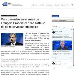 Vers une mise en examen de François Grosdidier dans l'affaire de sa réserve parlementaire