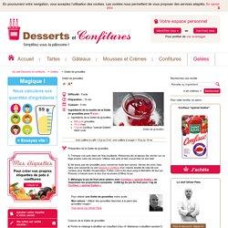 Recette gelée de groseilles - Desserts et Confitures