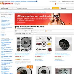 Vente en grosélectrique 1000w kit vélo- Achetez des lots de électrique 1000w kit vélo de Chine électrique 1000w kit vélo vendeurs en gros sur Aliexpress.com