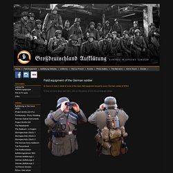 Grossdeutschland Aufklarung - UK based WW2 German Re-enactment Group