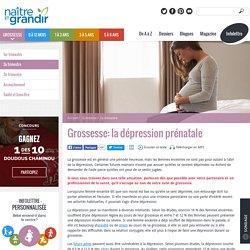 Grossesse: la dépression prénatale
