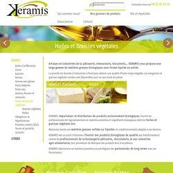 Grossiste Huiles Végétales Bio & Graisses Végétales Bio - Keramis