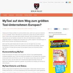 MyTaxi auf dem Weg zum größten Taxiunternehmen Europas. Eine Analyse!