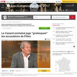"""Le Canard enchaîné juge """"grotesques"""" les accusations de Fillon"""
