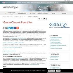 Grotte Chauvet-Pont d'Arc - Archéologie