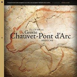 La Grotte Chauvet-Pont d'Arc - site interactif