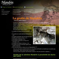 Grotte de Mandrin