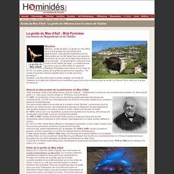 Ecosysteme ancien:Grotte Mas d'Azil - grotte - visite - images