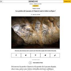 Les grottes de Lascaux et Chauvet sont à visiter en ligne!