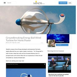 Groundbreaking Energy Ball Wind Turbine for Home Power